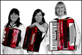 Red accordions