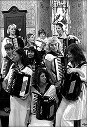 The No.1 Ladies Accordion Orchestra